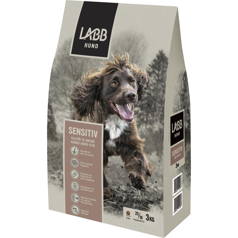 Hundfoder Labb Sensitiv Små raser, 3 kg