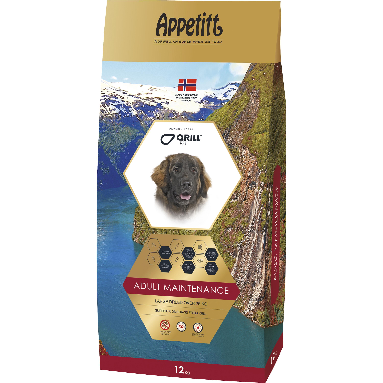 Hundfoder Appetitt Adult Maintenance Large Breed, 12 kg