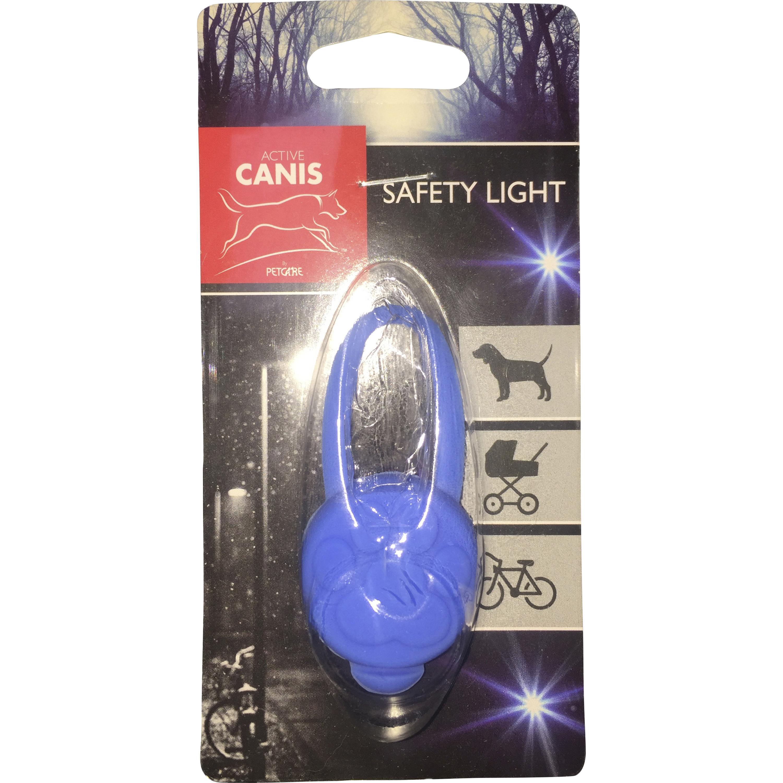Lampa till hundhalsband Active Canin Silikon Blå, XS