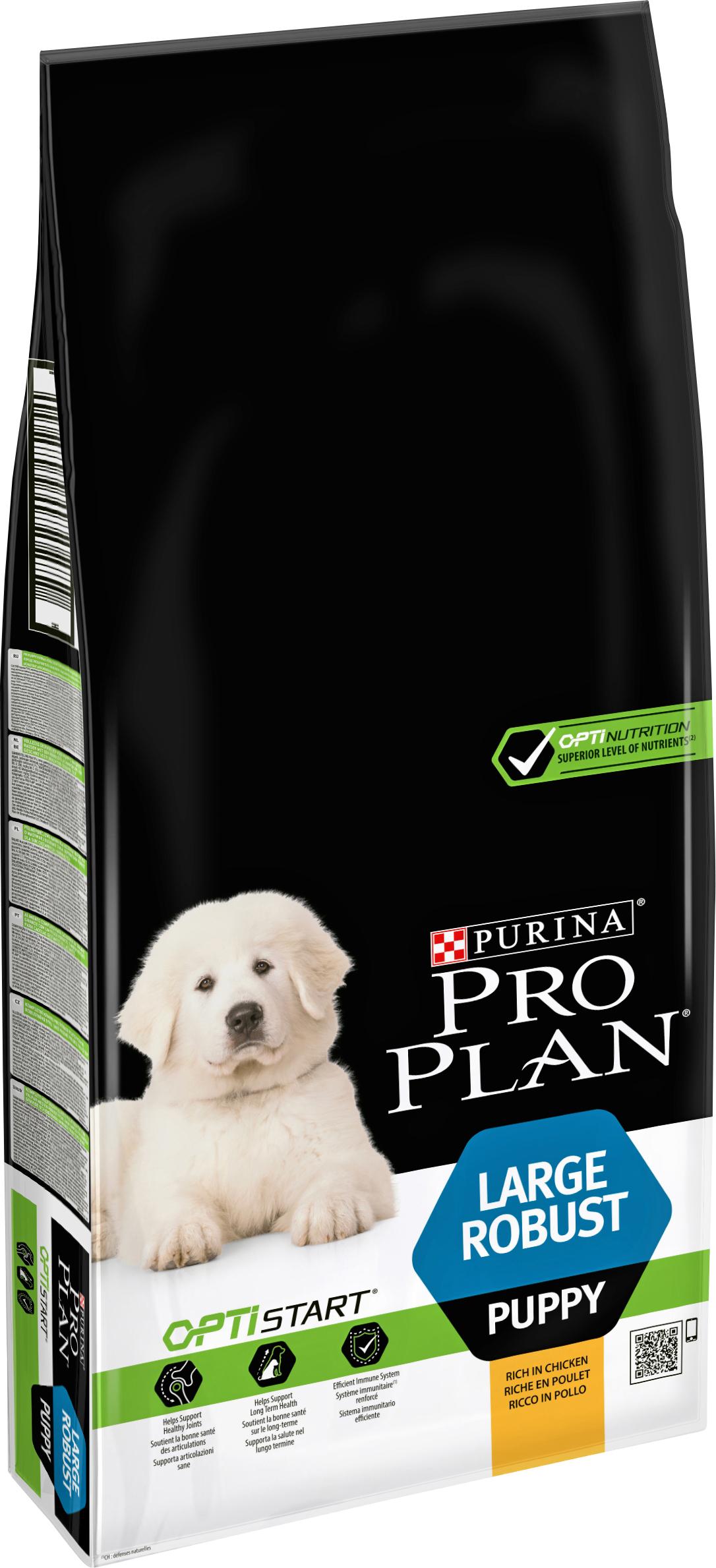 Hundfoder Pro Plan Large Puppy Robust, 12 kg