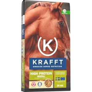 Hästfoder Krafft Müsli Protein, 20 kg