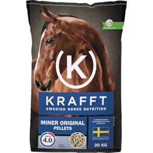 Hästfoder Krafft Miner Original Pellets, 20 kg