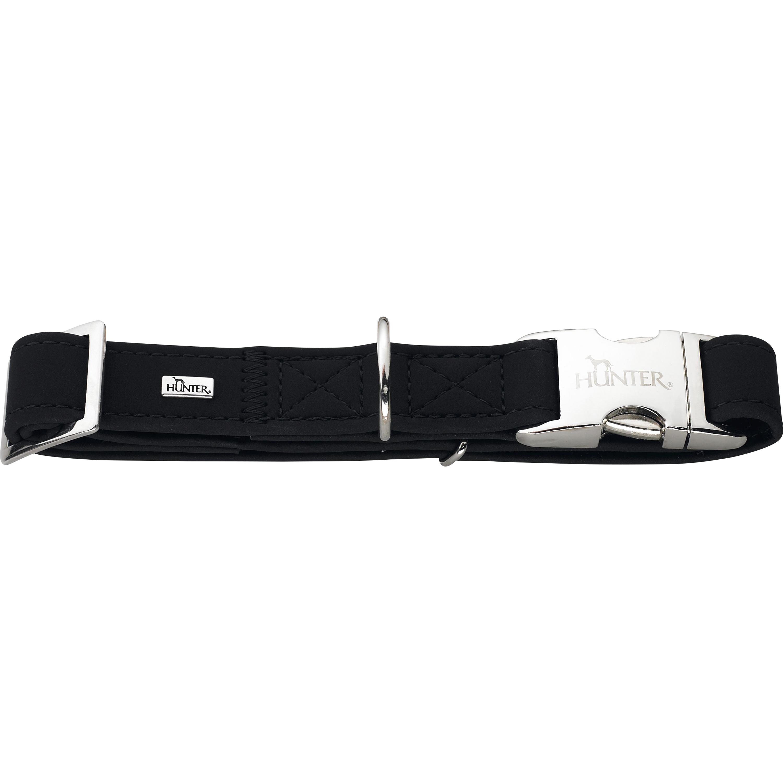 Hundhalsband Hunter Softie, Svart 40-55 cm