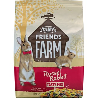 Kaninfoder Tiny Friends Farm Original Müsli, 2,5 kg
