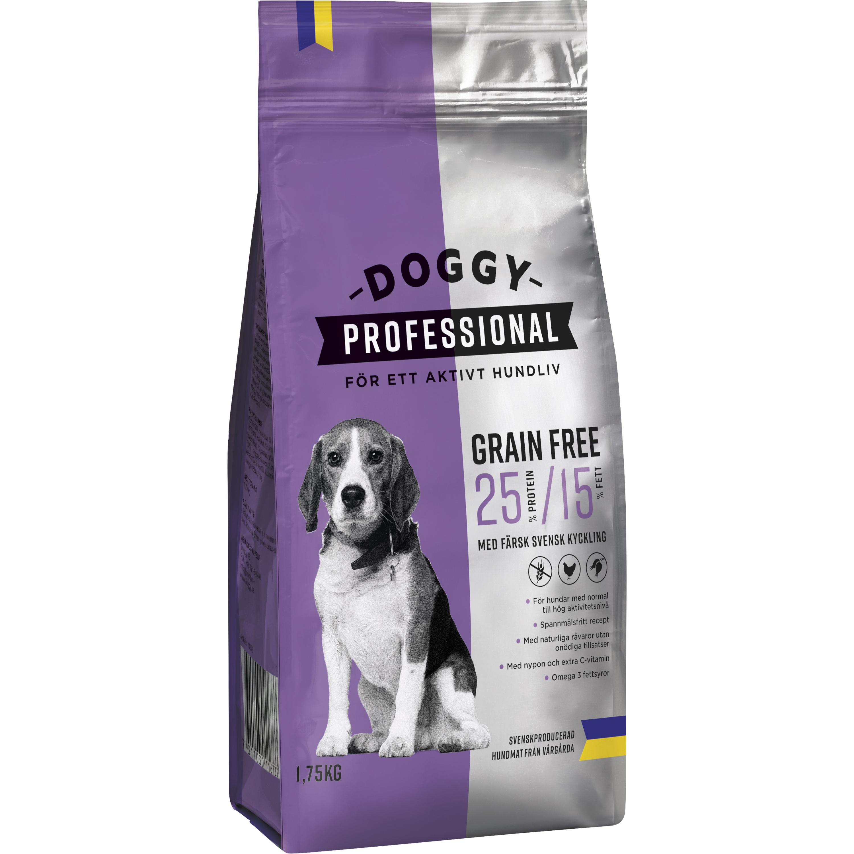 Hundfoder Doggy Professional Grain Free, 1,75 kg