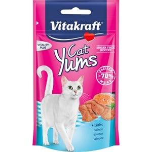 Kattgodis Vitakraft Cat Yums Lax, 40 g