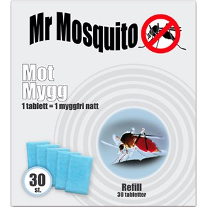 Myggskydd Mr Mosquito Refill, 30-pack