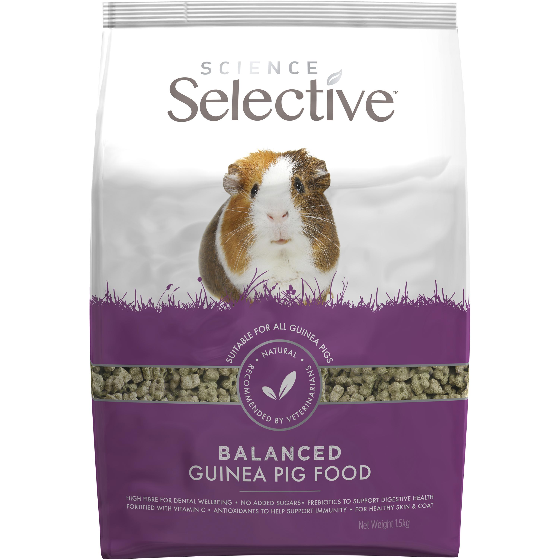 Marsvinsfoder Selective, 1,5 kg