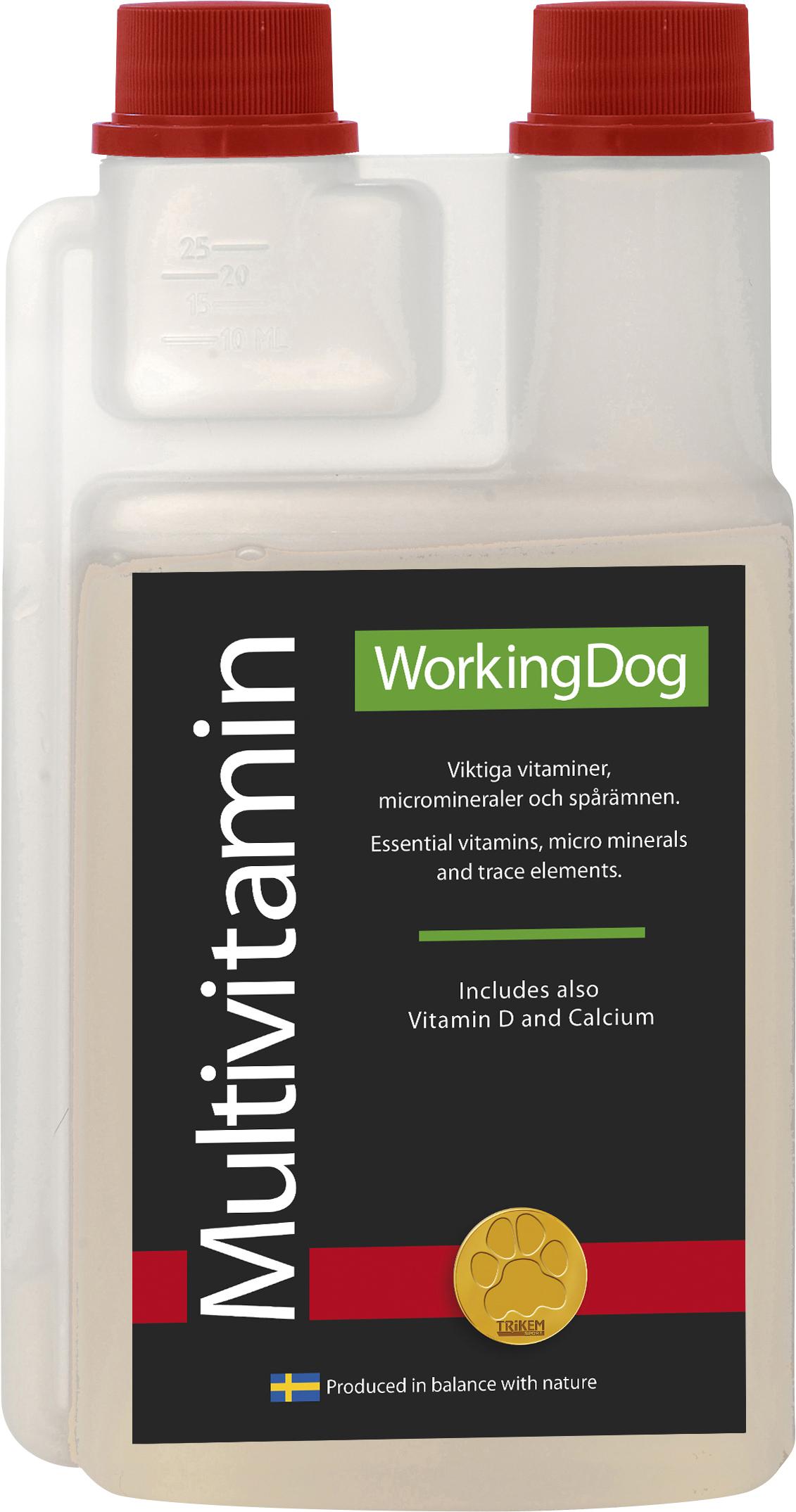Tillskott Trikem WorkingDog Multivitamin, 500 ml