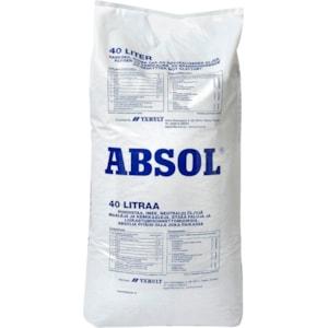Saneringsmedel Absol 0,5-5 mm, 40 l