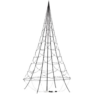 Julbelysning Fairybell Ljusgran 3 meter, 480 LED-lampor
