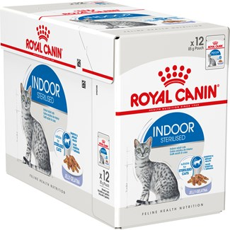 Kattmat Royal Canin Indoor Ageing 7+ Jelly, 12x85 g