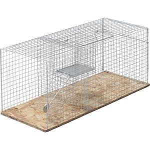 Råttbur Fix grå, 52 x 20 x 18 cm