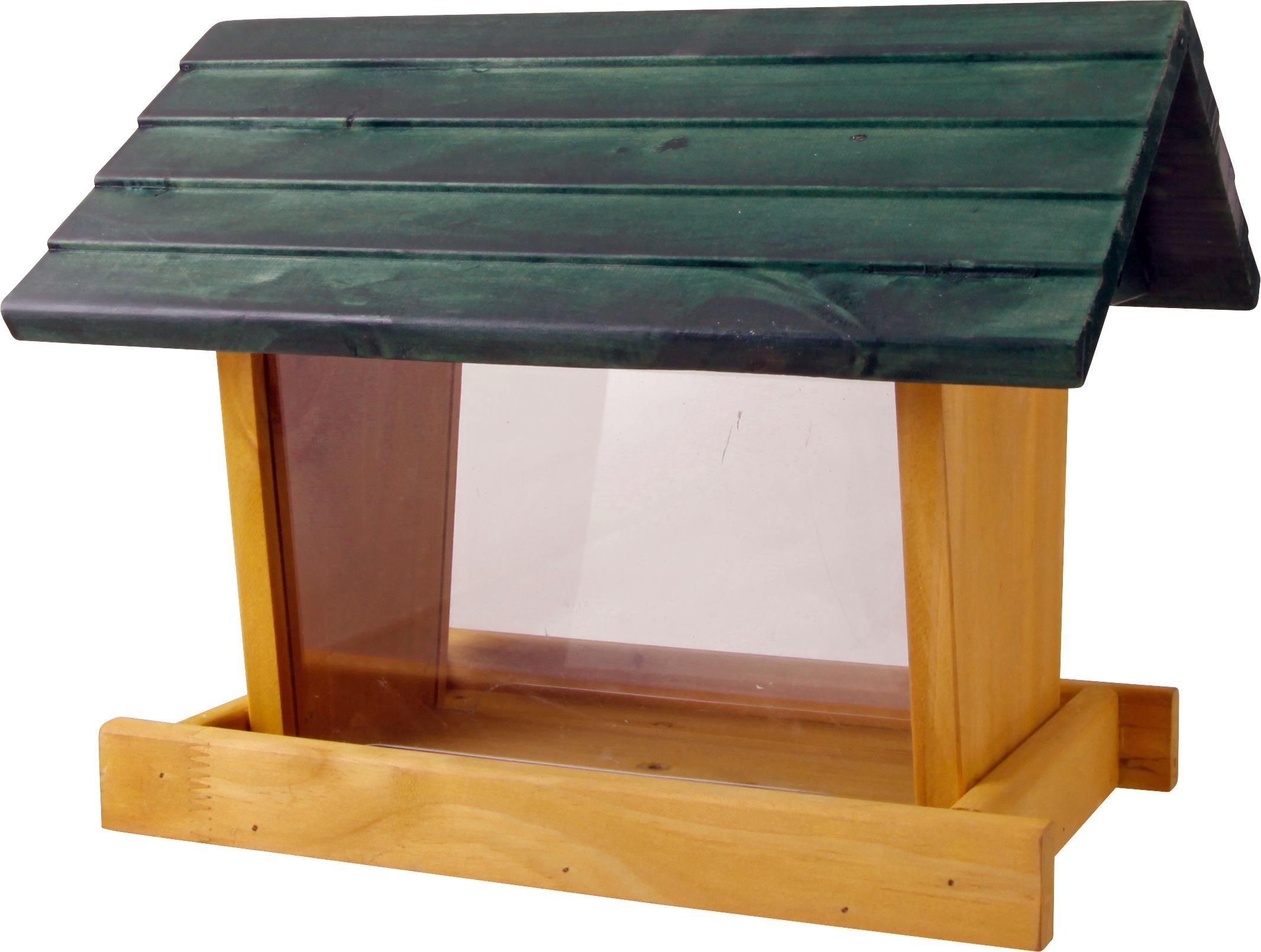 Fågelmatare Granngården Grön stuga Frö, 3,5 l