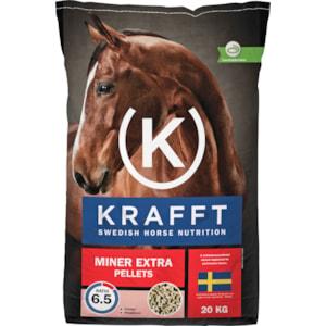 Hästfoder Krafft Miner Extra Pellets, 20 kg
