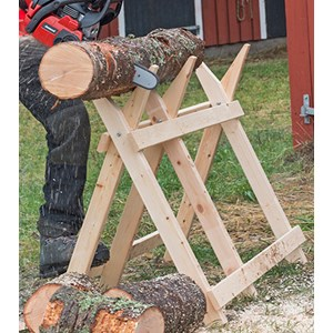 Sågbock i trä, 1200 mm