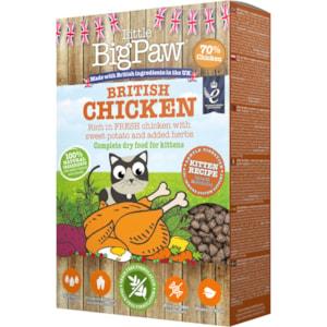 Kattmat Little Big Paw Kitten British Chicken 375 g