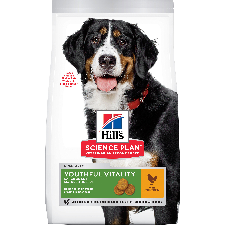 Hundfoder Hills Science Plan Adult 7+ Youthful Vitality Large Breed, 14 kg