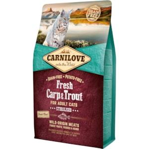 Kattmat Carnilove Carp & Trout 2kg
