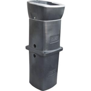 Termorör LaGée Thermo Golv, grå 1000 mm