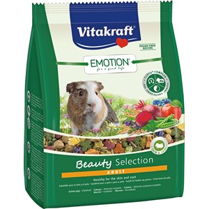 Marsvinsfoder Vitakraft Emotion Beauty Selection Adult, 1,5 kg