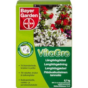 Långtidsgödsel VitaGro, 0,7 kg