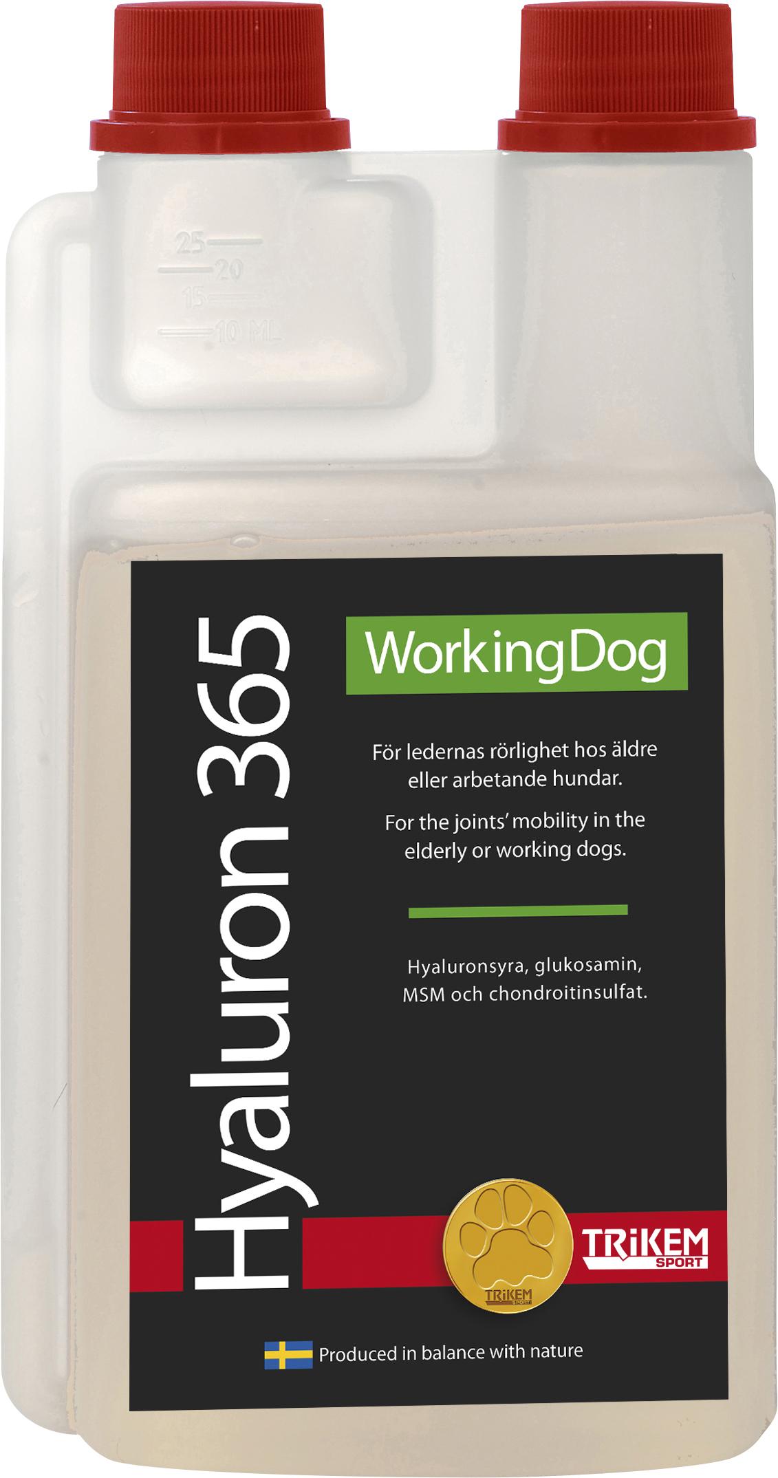 Tillskott Trikem WorkingDog Hyaluron 365, 500 ml