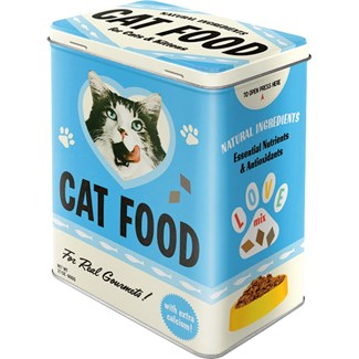 Plåtburk Cat Food, 3 liter