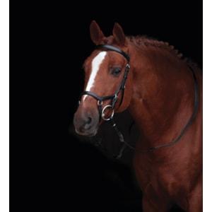 Träns Horseware Rambo Micklem Competition, Svart Full