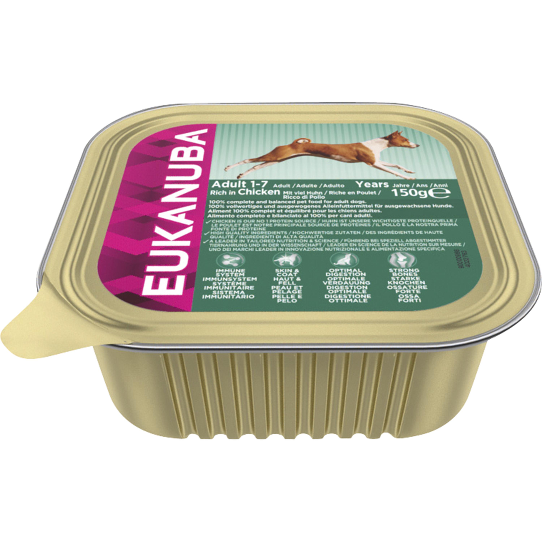 Hundfoder Eukanuba Adult Chicken, 150 g