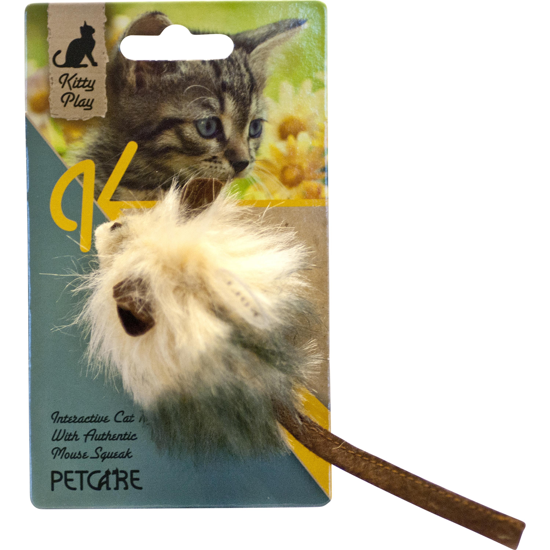 Kattleksak Kitty Play Squeaking Fuzzy