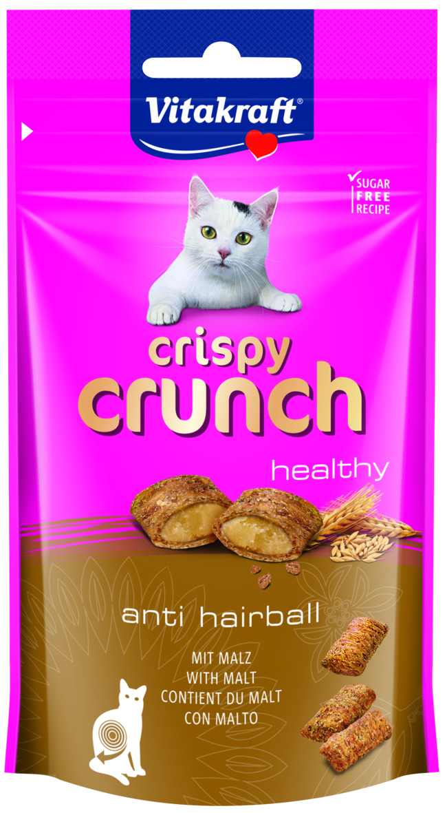 Kattgodis Vitakraft Crispy Crunch Malt, 60 g