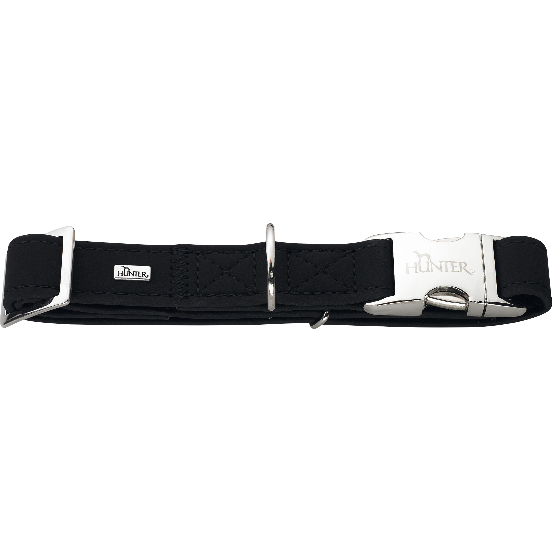 Hundhalsband Hunter Softie, Svart 45-65 cm
