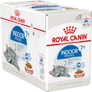 Kattmat Royal Canin Indoor Ageing 7+ Gravy, 12x85 g