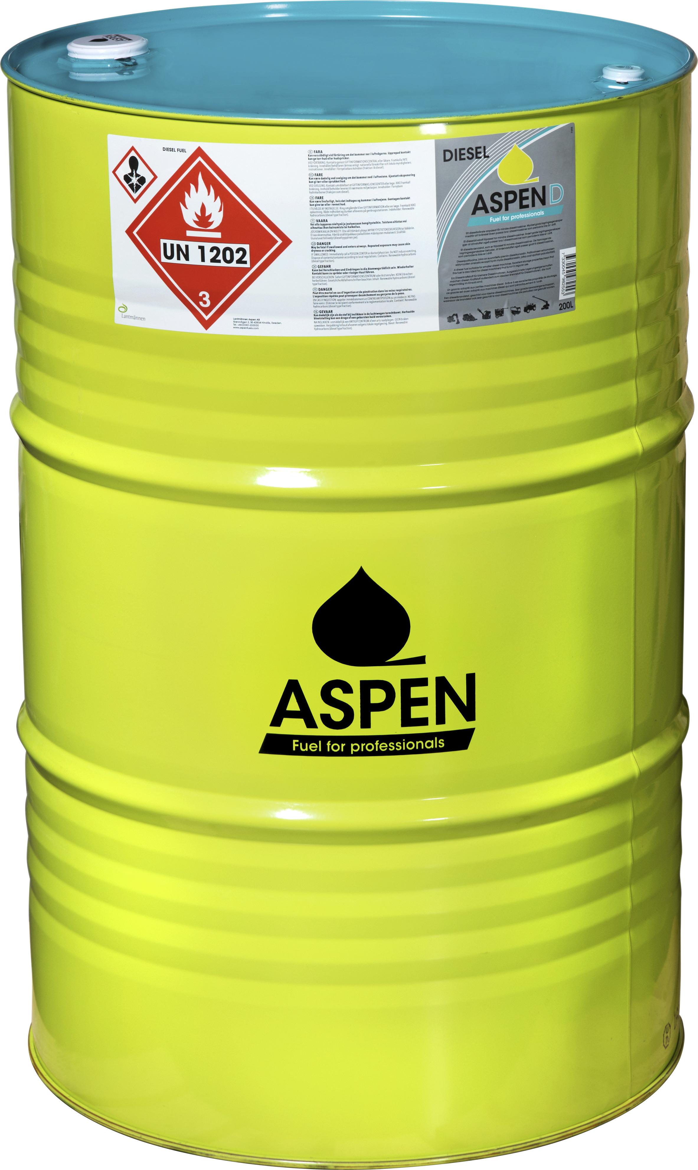 Drivmedel Aspen D, 200 l