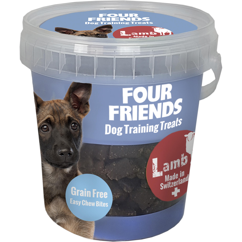 Hundgodis Four Friends Träning Lamm, 400 g
