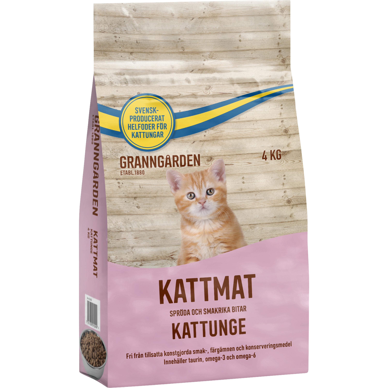 Kattmat Granngården Kattunge, 4 kg