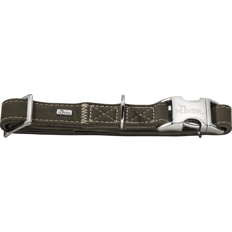 Hundhalsband Hunter Hunting Alu-Strong, Grön M 40-55 cm