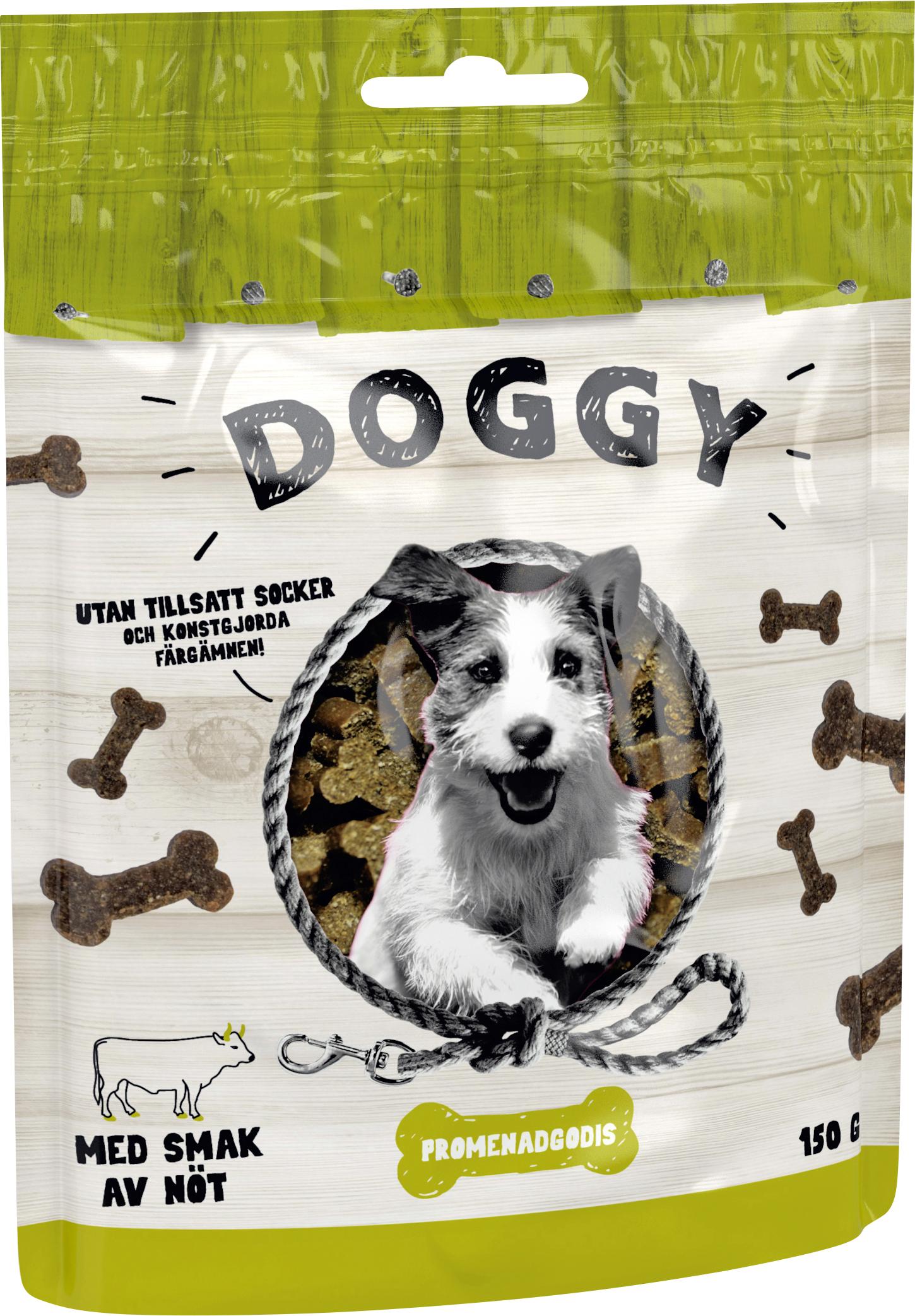 Hundgodis Doggy Nöt, 150 g
