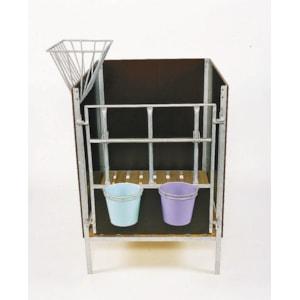 Höhäck till kalvbox, varmgalvaniserad