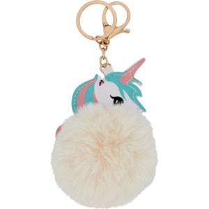 Nyckelring Equipage Unicorn, Vit