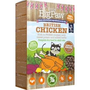 Kattmat Little Big Paw Adult British Chicken 375 g
