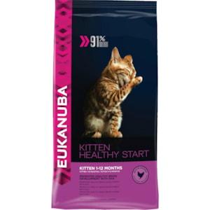 Kattmat Eukanuba Kitten Healthy Start 10 kg