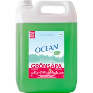 Rengöringsmedel Ocean Grönsåpa, 5 l