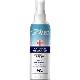 Hudvård TropiClean Oxy-Med Anti-Kli Spray, 236 ml