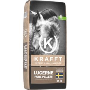 Hästfoder Krafft Lucerne Pure pellets, 25 kg