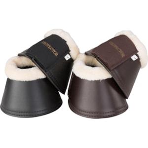 Boots med päls Källquist, brun XL