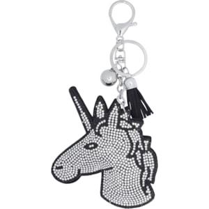 Nyckelring Equipage Unicorn, Svart