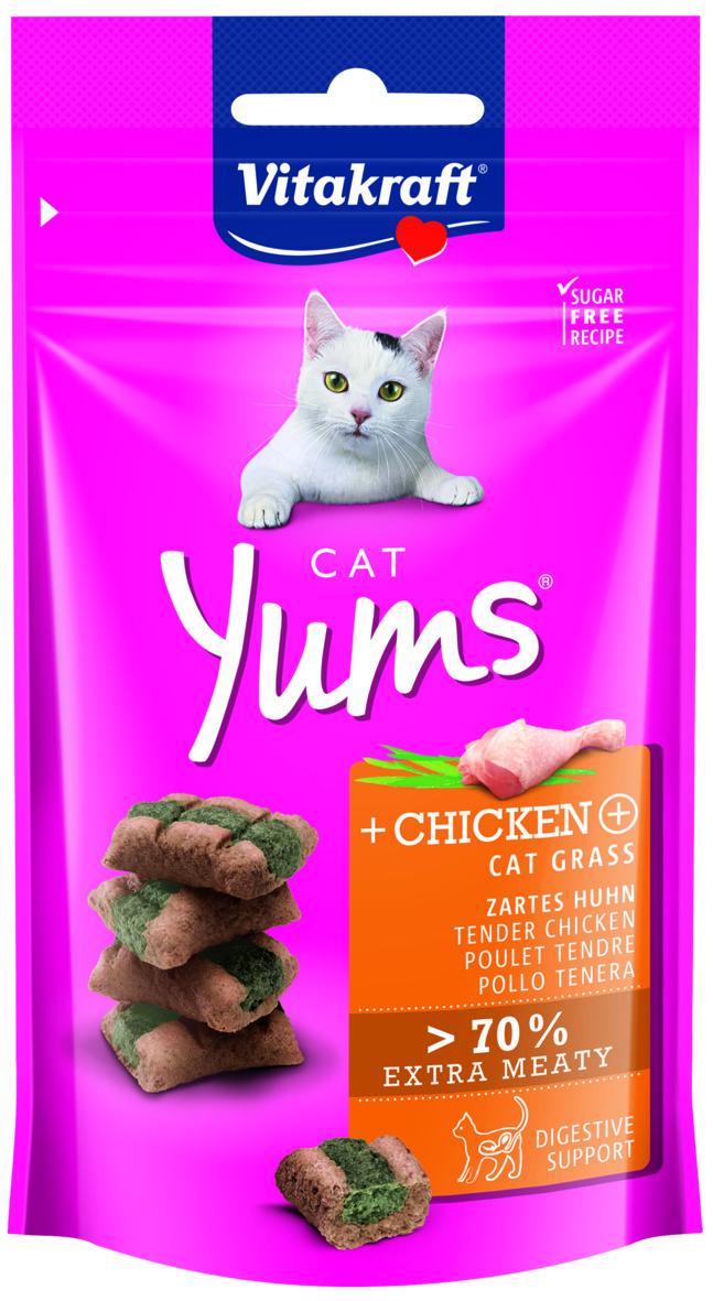Kattgodis Vitakraft Cat Yums Fågel, 40 g