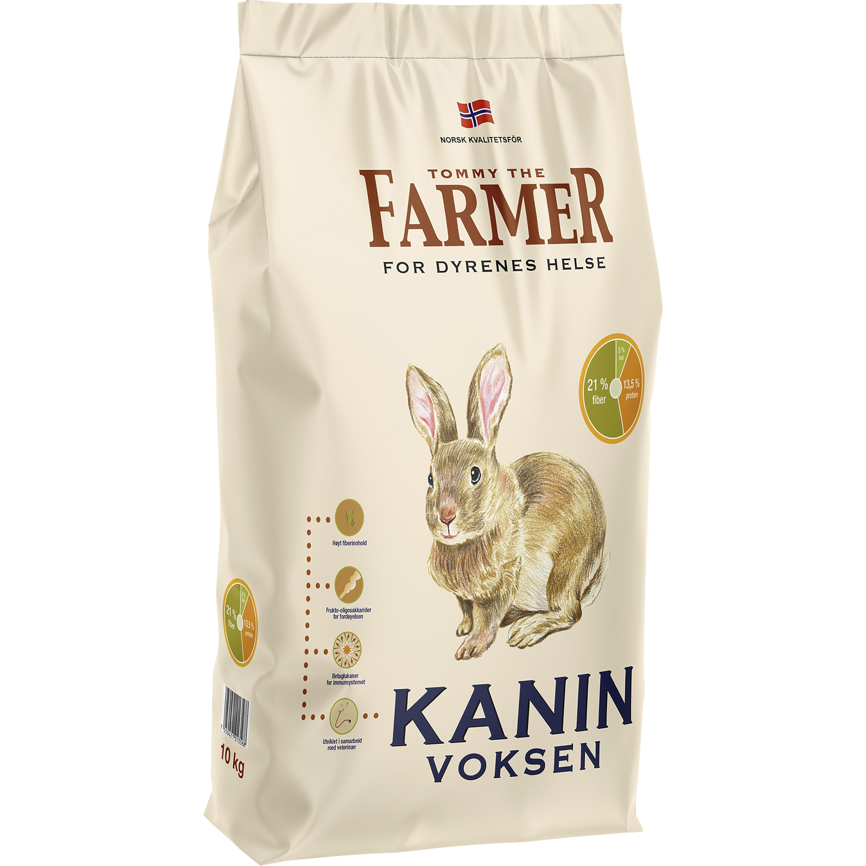 Kaninfoder Farmer Vuxen, 10 kg